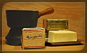 Margarine oder Butter ?